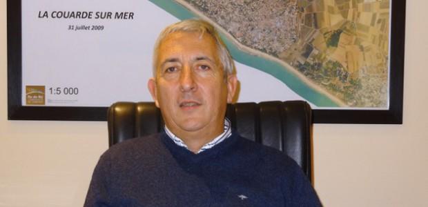Patrick Rayton, maire de La Couarde