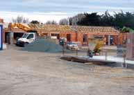 Chantier de construction de maisons