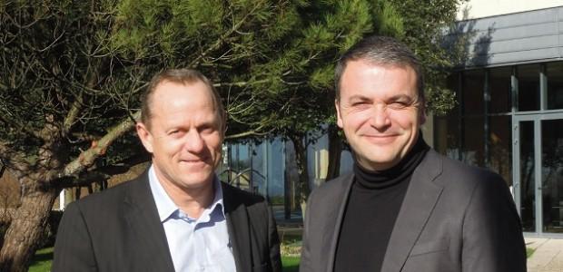 Stéphane Villain et Olivier Amblard, Président et Directeur de Charente-Maritime Tourisme