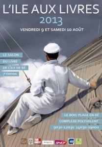 Affiche Ile aux Livres 2013