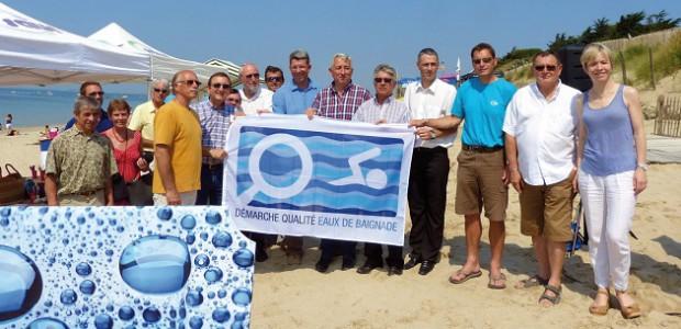 Démarche qualité eau de baignade pour l'île de Ré