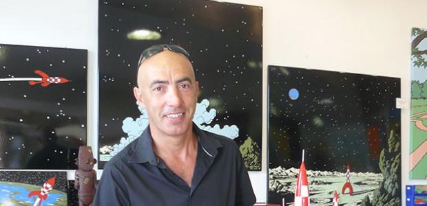 Olivier Poirier, organisateur du festival de bande dessinée