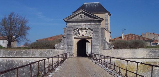 Porte Campani, fortification Vauban à St Martin de Ré, inscrite au patrimoine mondial
