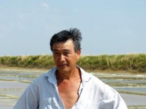 Guy Leprince, président de la coopérative des sauniers de l'île de Ré