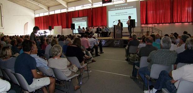 Avec l'association Avenir, les professionnels se mobilisent contre le PPRL de l'ile de Ré