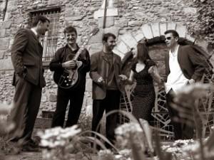 Les musiciens du groupe blues Mama's Biscuit