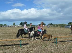 Enfants en poney