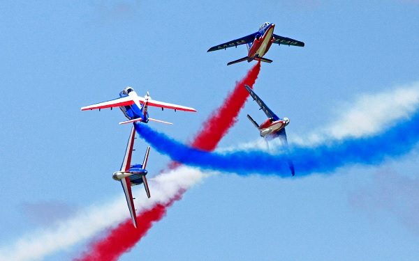 Avions de la PAF, patrouille aérienne de France (C) François Blanchard