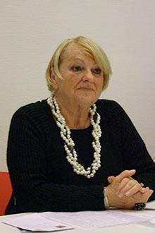 Annick Delalleau, présidente du Foyer de jeunes et d'éducation populaire du Bois Plage en Ré