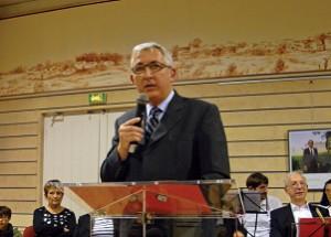 Voeux de Patrick Rayton, maire d'Ars-en-Ré