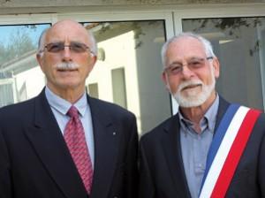 Christian Bourgne et Michel Auclair