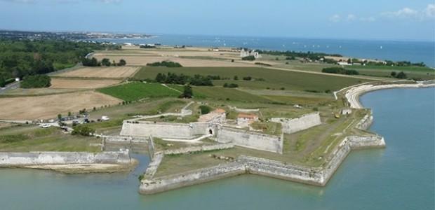 fort de la Prée à La Flotte route de Rivedoux