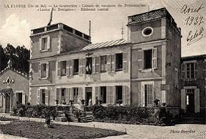 Le préventorium « Louise de Bettignies » à La Flotte en 1937