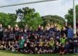 Le Stade rochelais en visite à l'école de rugby du SCR