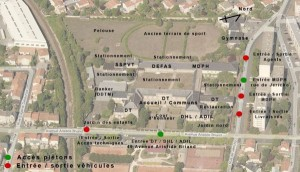 Site Briand à La Rochelle : le pôle social du Conseil Général (ancien IUFM)