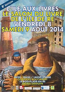 Salon L'île aux Livres 2014 au Bois-Plage, île de Ré
