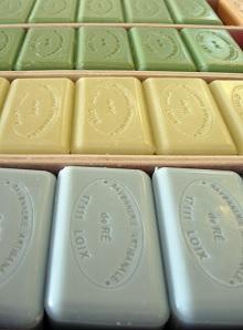 Des savons 100 % artisanaux (Loix et Savon, Savonnerie de Ré)