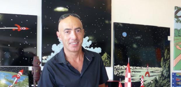 Olivier Poirier, organisateur de Bulles de Ré 2014 à St Martin