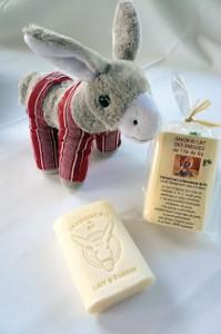 Savon au lait d'ânesse par la Savonnerie de Ré et Régis Léau