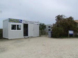 Ecomusée du marais salant pile de ré : accueil provisoire avant travaux