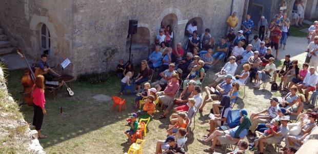 Le Fort de la Prée (La Flotte-Rivedoux) s'anime dans le cadre des journées du patrimoiine qui mettent l'histoire à l'honneur