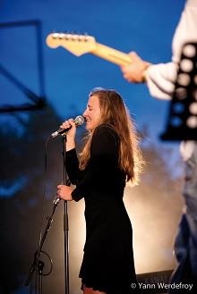 Anne-Charlotte Stecker au Festival jazz en Ré à Saint-Martin. (c) Yann Werdefroy