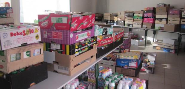 Collecte des Restos du Coeur de produits bébés sur l'île de Ré