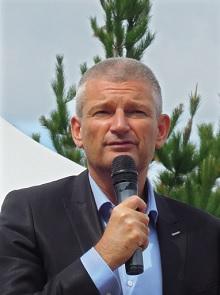 Le député de l'île de Ré Olivier Falorni