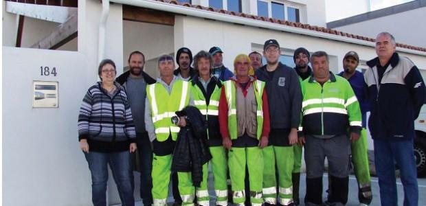 L'équipe de l'association d'insertion sociale La verdinière (Rivedoux, île de Ré)