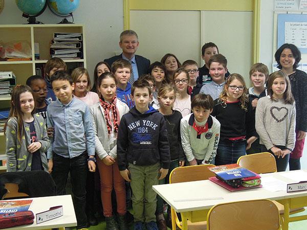 Parlement des enfants : école du Bois-Plage, La Rochelle-Ré