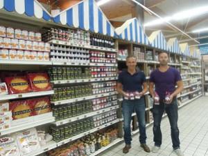 L'alimentation des producteurs régionaux est en bonne place dans les Intermarché de l'île de Ré