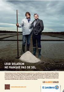 Une campagne déclinée par Leclerc au niveau national, valorisant le sel de l'île de Ré.