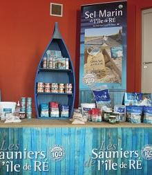 Les Sauniers de l'Île de Ré, produits régionaux du terroir (sel...)