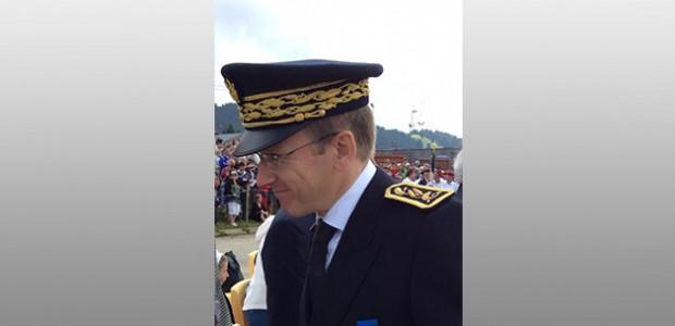 Eric Jalon, nouveau préfet de la Charente-Maritime. © Préfecture de Savoie