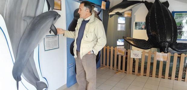 Gregory Ziebacz sensibilise à la raréfaction des mammifères marins dans les pertuis charentais