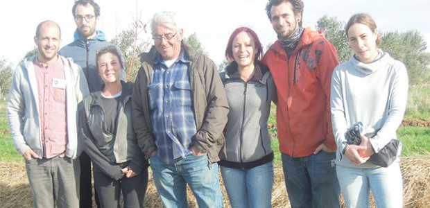 Régis léau et Graine de Troc pratiquient la permaculture sur l'île de Ré