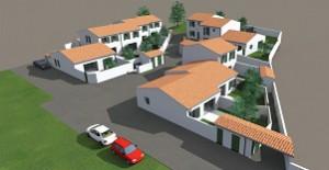 Création de 11 logements sociaux HLM à Rivedoux-Plage
