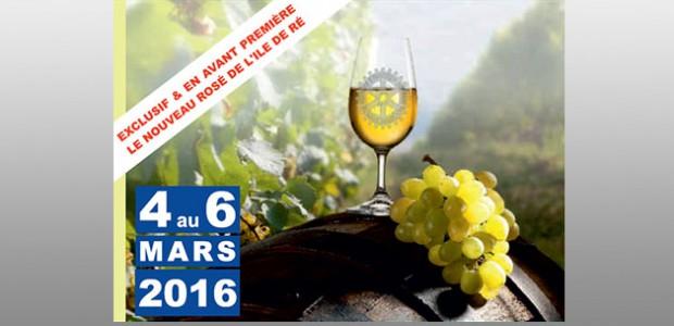 Salon du vin bio de nieul sur Mer 2016 et lancement de la gamme L'Azuré de l'île de Ré