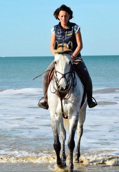 Capucine Nicot, la passion des chevaux