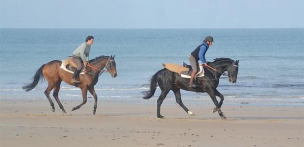 Capucine Nicot et Véronique Vigouroux, deux femmes qui vivent cheval