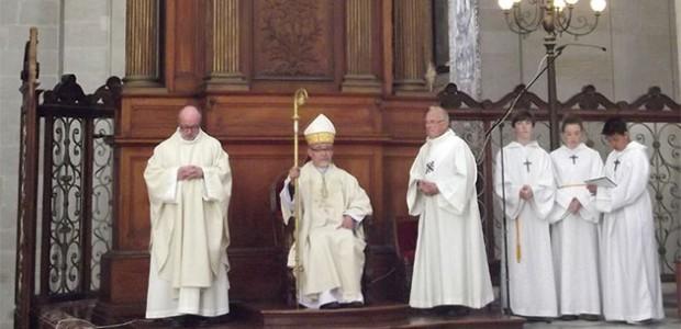 Mgr Colombr, ordonné évèque de La Rochelle et Saintes