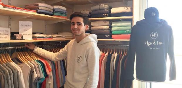 Extrêmement Une création de vêtements lancée par un jeune rétais - Ré à la Hune EB41