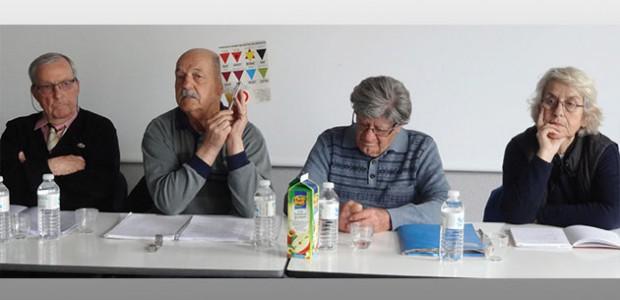 Au collège des Salières (St martin de Ré), des intervenants ont cherché à transmettre la mémoire de la déportation