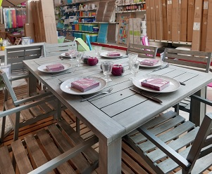 Beautiful Table De Jardin Plastique Intermarche Contemporary ...