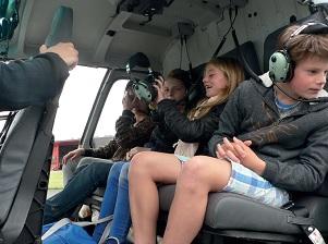 Les enfants de Sainte-Marie découvre l'aviation à l'aéroclub