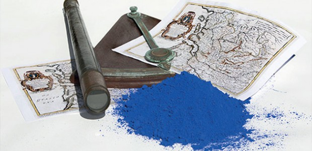 La Route de l'or bleu, un livre historique de Daniel Bernard consacré à une couleur