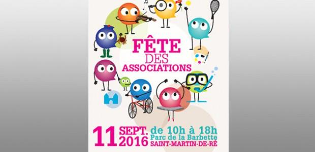 Île de Ré : Fête des associations le 11 septembre 2016 à St Martin