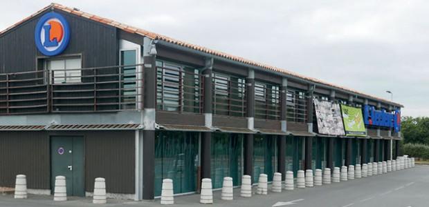 Travaux : Le magasin Leclerc St Martin de Ré va s'agrandir notamment en mangeant de l'espace sur les parkings