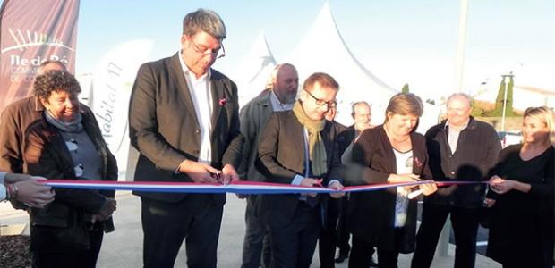 Inauguration des logements sociaux de la Cure à Loix sur l'île de Ré