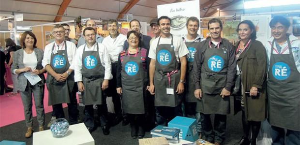 Les producteurs rétais étaient déjà présents sous une « bannière » commune « Saveurs en Ré » au Salon de la Gastronomie de La Rochelle